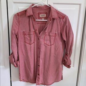 Pocket military boyfriend shirt